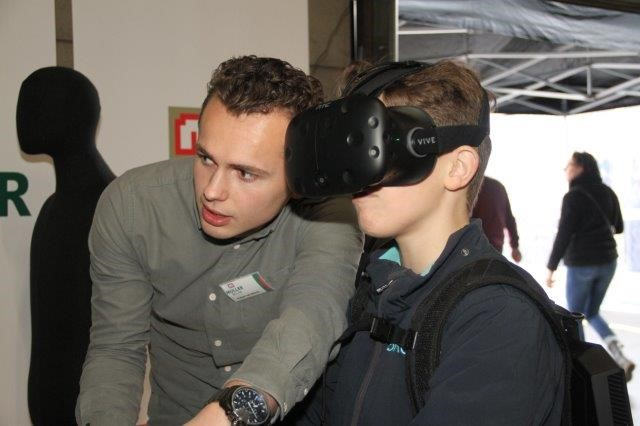 Techniekdag Muller Bouw virtual reality